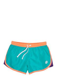 JK Tech Solid Woven Shorts Girls 7-16