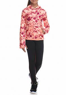 JK Tech™ Printed Hoodie Solid Pant Set Girls 7-16