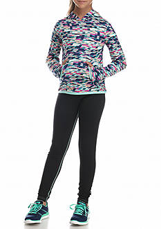 JK Tech Print Tech Hoodie and Leggings Girls 7-16