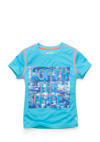 JK Tech® 'Worth The Hype' Tee Girls 4-6x