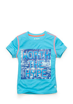 JK Tech™ 'Worth The Hype' Tee Girls 4-6x