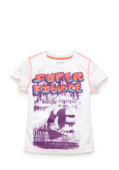 JK Tech® 'Super Fierce' Graphic Tee Girls 4-6x
