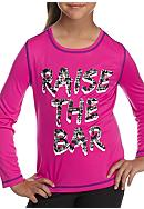 JK Tech® Raise The Bar Tee Girls 4-6x