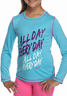 JK Tech All Day Tee Girls 4-6x