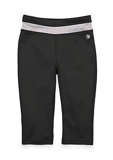 JK Tech Solid Yoga Capri Pants Girls 4-6x