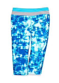 JK Tech™ Print Yoga Capri Pants Girls 4-6x