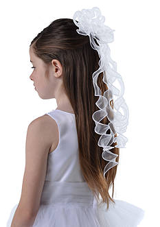Us Angels Organza Florette On Comb Girls 4-16
