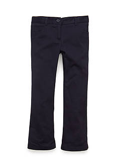 Nautica Uniform Skinny Boot Leg Pants Girls 4-6x