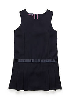Nautica Uniform Jumper With Bow Girls 4-6x