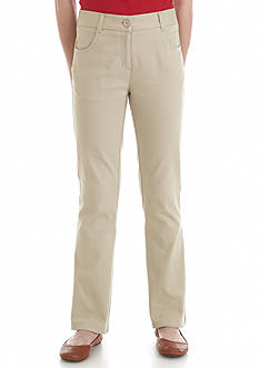Nautica Uniform Bootcut Regular Pants Girls 7-16