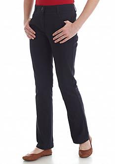 Nautica Uniform Bootcut Regular Pants Girls 7-16
