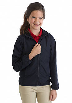 Nautica Uniform Rip Stop Jacket Girls 7-16
