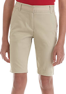 Nautica Uniform Bermuda Shorts Girls Plus
