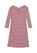 love, Fire Stripe Lace Up T-Shirt Dress Girls 7-16