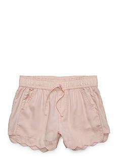 love, Fire Scallop Chambray Shorts Girls 7-16