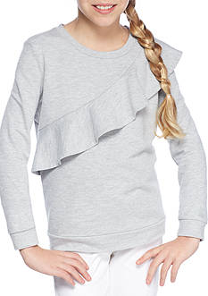 TINSEY Ruffle Sweatshirt Girls 7-16