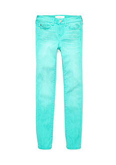 CELEBRITY PINK GIRLS Aqua Blue Skinny Leg Pants Girls 7-16