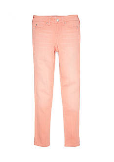 CELEBRITY PINK GIRLS Light Orange Skinny Leg Pants Girls 7-16