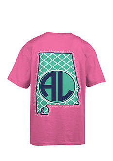 Royce Brand Alabama Monogram Graphic Tee Girls 7-16