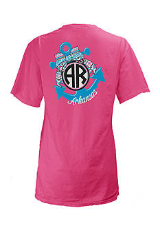 Royce Brand Arkansas Anchor Tee Girls 7-16