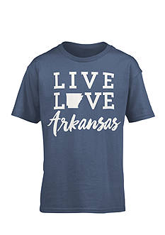 Royce Brand 'Live Love Arkansas' Tee Girls 7-16