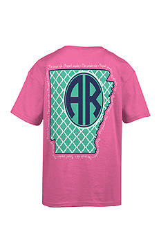 Royce Brand Arkansas Monogram Graphic Tee Girls 7-16