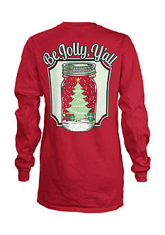 Royce Brand Be Jolly Long Sleeve Tee Girls 4-6x