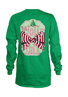 Royce Brand Jolly Y'all Long Sleeve Tee Girls 4-6x