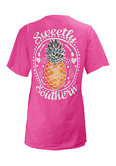 Pineapple Southern Tee Girls 7-16