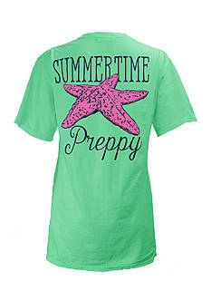 Royce Brand Southern Summertime Preppy Tee Girls 7-16
