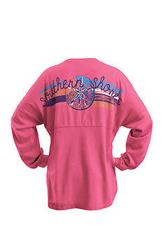Royce Brand 'Southern Shores' Sweeper Tee Girls 7-16