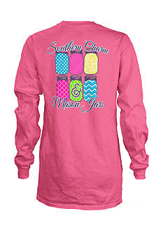 Royce Brand Holidays Are Warmer In The South Long Sleeve Shirt Girls 7-16