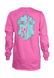 Royce Brand Stand Tall Giraffe Long Sleeve Shirt Girls 7-16