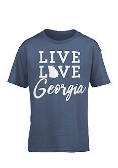 Royce Brand 'Live Love Georgia' Tee Girls 7-16