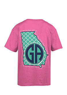 Royce Brand Georgia Monogram Graphic Tee Girls 7-16
