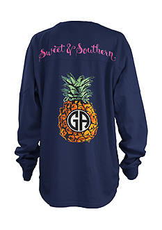 Royce Brand GA Pineapple Monogram Shirt Girls 7-16