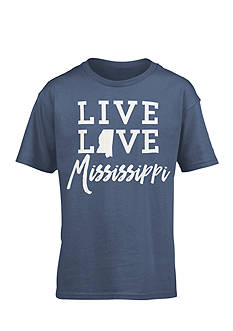 Royce Brand 'Live Love Mississippi' Tee Girls 7-16