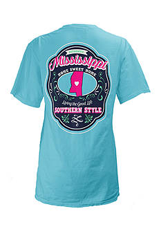 ROYCE Mississippi State Crest Tee Girls 7-16