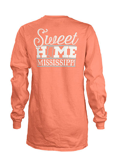 Royce Brand MS 'Sweet Home State' Long Sleeve Shirt Girls 7-16