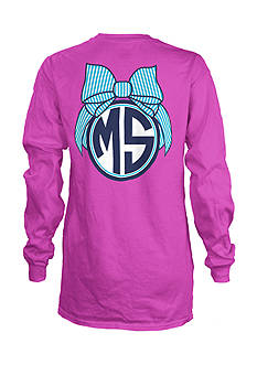 Royce Brand MS Monogram Bulb State Long Sleeve Shirt Girls 7-16