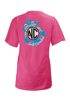 Royce Brand North Carolina Anchor Tee Girls 7-16