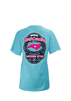 Royce Brand North Carolina State Crest Tee Girls 7-16
