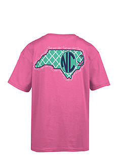 Royce Brand North Carolina Monogram Graphic Tee Girls 7-16