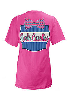 Royce Brand North Carolina Bow Tie Tee Girls 7-16