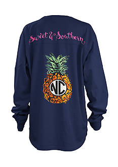 Royce Brand NC Pineapple Monogram Shirt Girls 7-16