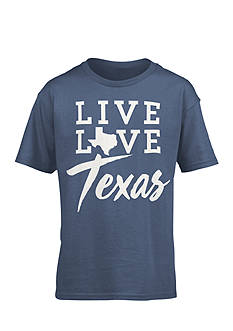 Royce Brand 'Live Love Texas' Tee Girls 7-16