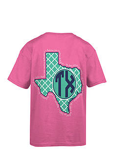 Royce Brand Texas Monogram Graphic Tee Girls 7-16