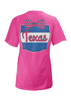 Royce Brand Texas Bow Tie Short Sleeve Shirt Girls 7-16