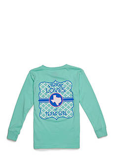 Royce Brand TX 'Everyone Loves a Texas Girl' Long Sleeve Shirt Girls 7-16