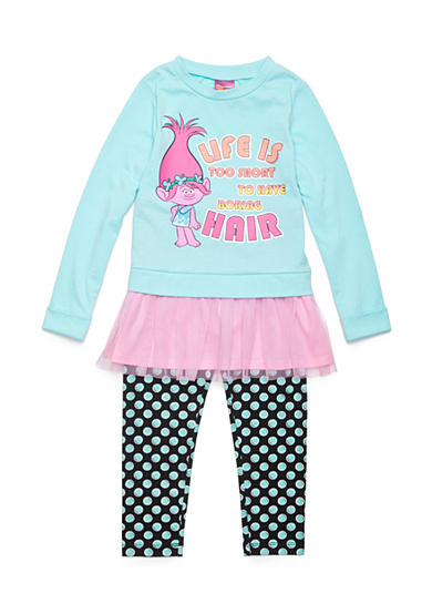 Shopkins™ Life Is Too Short Flounce Top and Pant Set Girls 4-6x